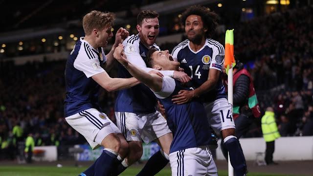 Escocia 1-0 Eslovenia eliminatorias Rusia 2018