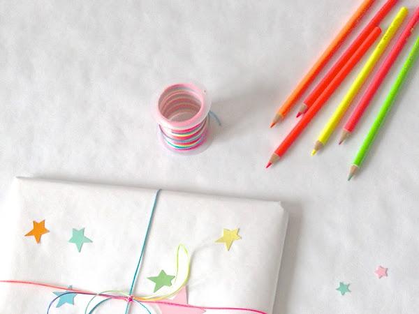 Decorazioni Natalizie #4 Stars & Fluo/ Xmas Wrapping #4 Stars & Fluo