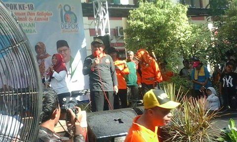 Walikota Imbau Warga Kecamatan Cilodong Kenali Pejabat Lingkungan