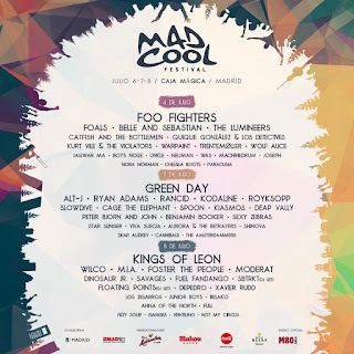 Mad Cool 2017 Madrid