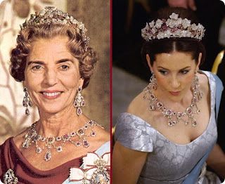 Queen Ingrid's Ruby Tiara