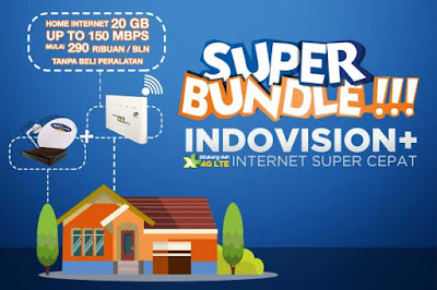 Promo Indovision Internet Wifi Paket Bundle 4G Lte