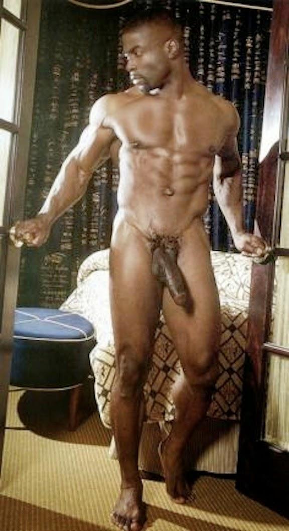 Well hung naked black men