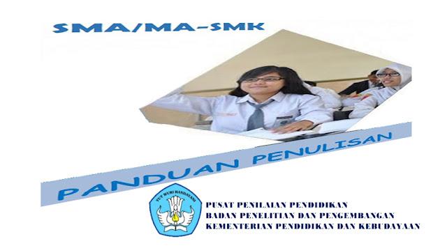Pedoman Penulisan Soal Untuk Jenjang SMA, MA, SMK, MAK