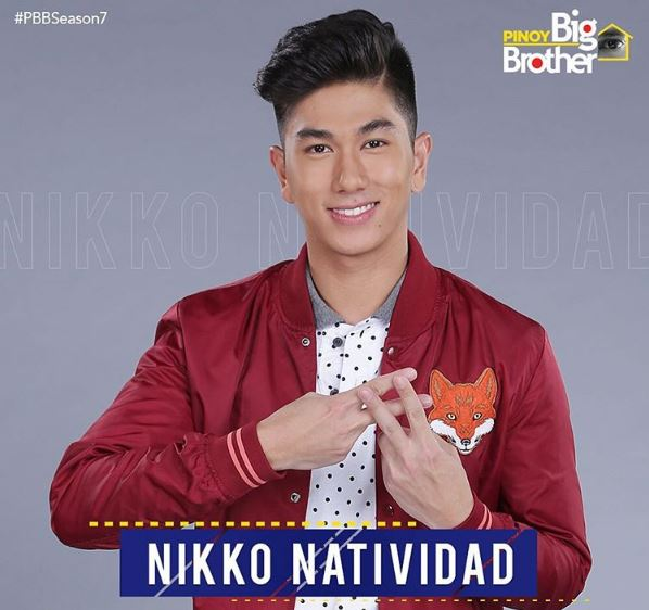 Nikko Natividad PBB Lucky Season 7