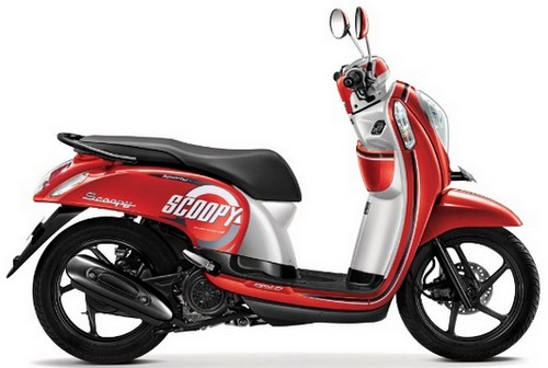 Warna Scoopy Paling Laris di Indonesia