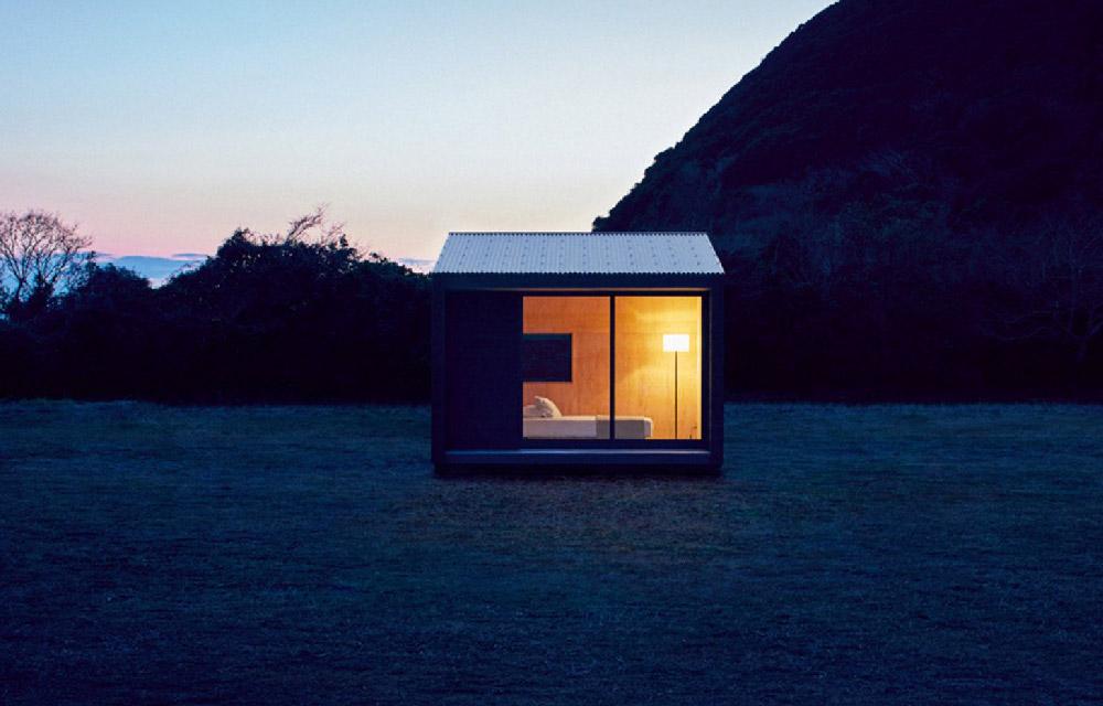 Muji hut la micro casa minimal di muji blog di for Quadri minimal