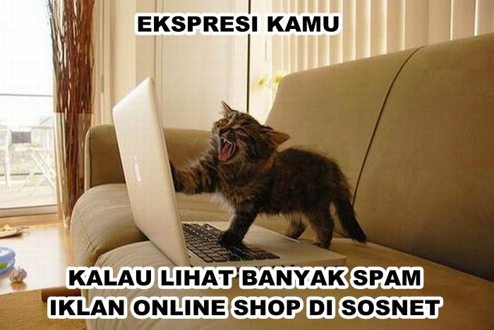 Kelakuan Orang Jualan Online