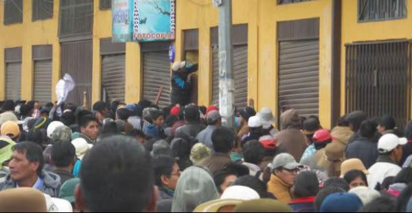 El Alto sólo tendrá actos protocolares en su aniversario