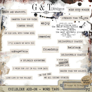 """CHILDLIKE"" Add-Ons by G & T Designs"