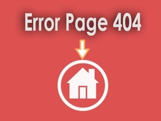 Redirect Error Page 404 to Homepage