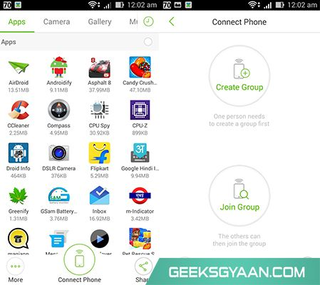 Xender userful android app