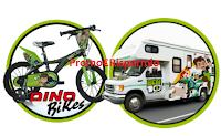 Logo BEN10: vinci un viaggio in camper per tutta la famiglia e biciclette Dino Bikes 16'' !