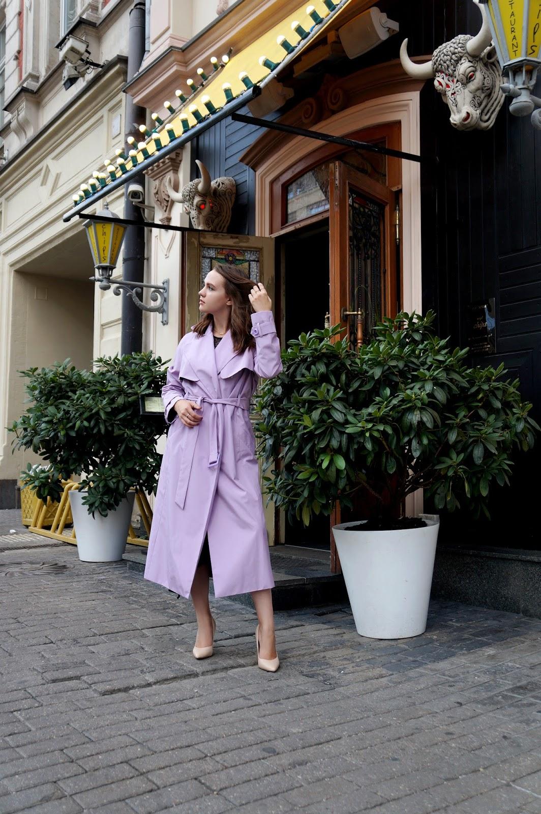 Alina Ermilova | Trench Coat Look