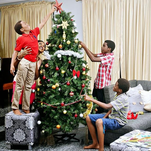 nigeria christmas tree decoration