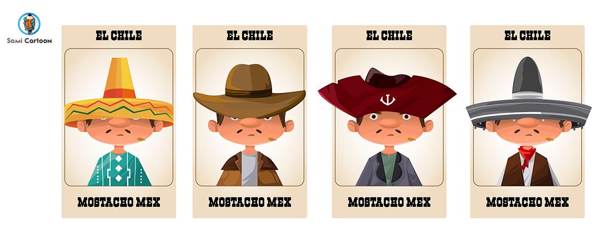 Ilustración Sami Cartoon El Salvador PortafolioSV