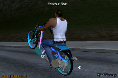 Scoopy Drag DFF Only Bikes Mod For GTA : SA Android - MWHB