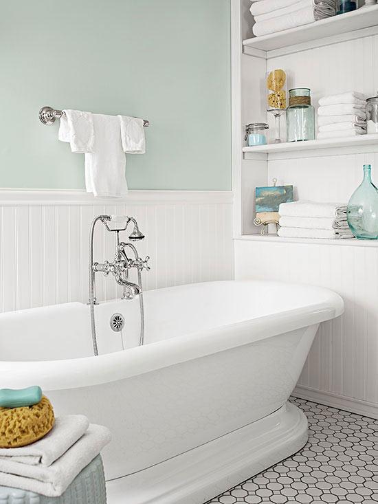 Bañera Un baño clásico CocoChic&Deco