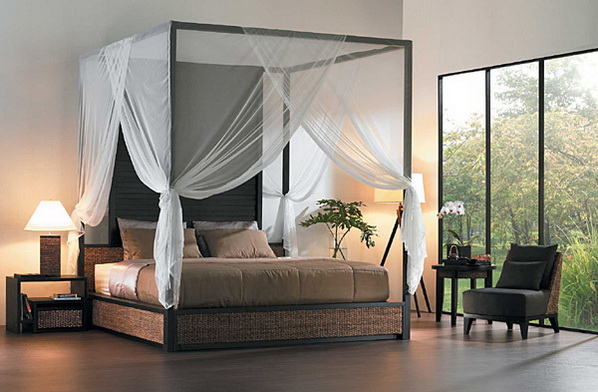 fashion world: Contemporary Canopy Bed Designs