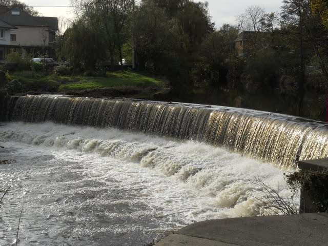 Walk the River Dodder in Dublin - waterfall
