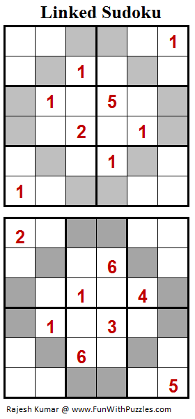 Linked Sudoku (Mini Sudoku Series #75)