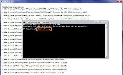 حل مشكلة الشاشة السوداء وضهور رسالة Windows n'est pas authentique