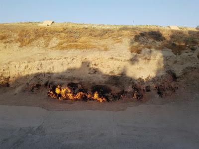 Yanar Dag, la Montaña de Fuego