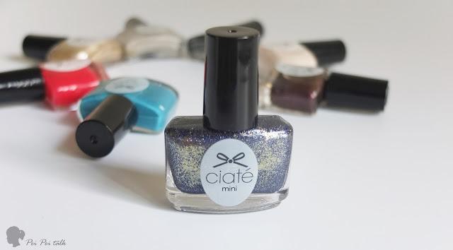ciate 夏堤指甲油-Mineral Clarity-試色