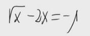 38. Ecuación irracional 10
