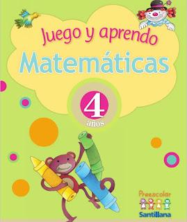 Juego y aprendo Matemáticas 4 años