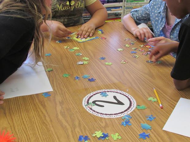 Growing Stem Classroom Puzzle Building Challenge