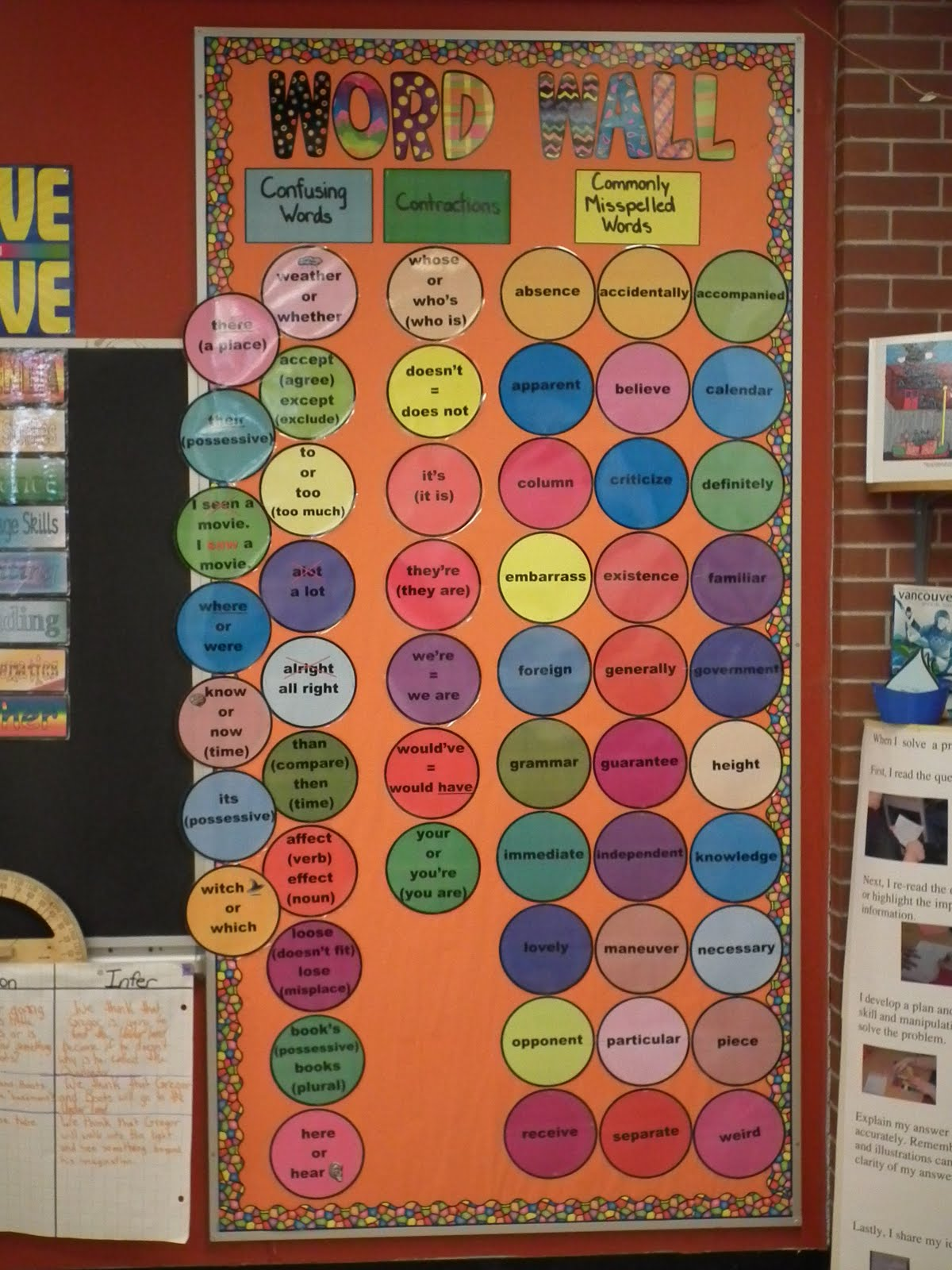 Runde's Room: Word Wall Makeover