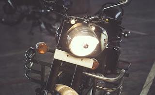 Bikes headlights is on always in india