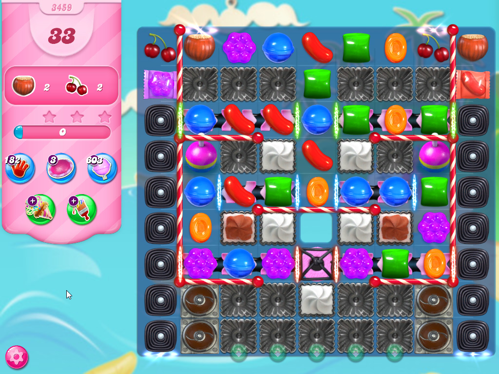 Candy Crush Saga level 3459