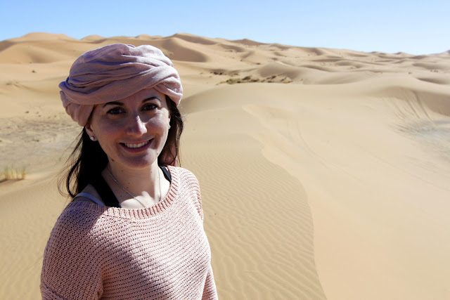 Lena con un turbante