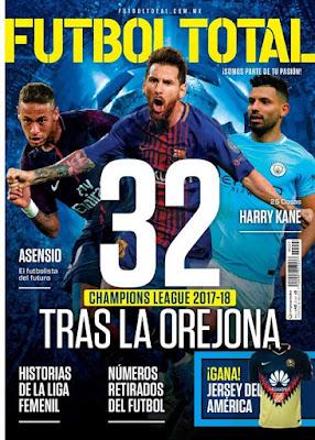 Revista Futbol Total México Octubre 2017