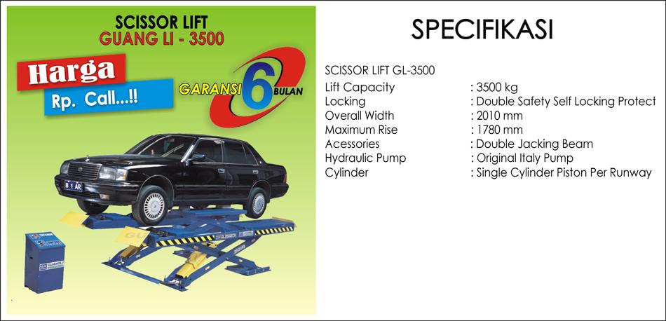 Scissor Lift GL-3500