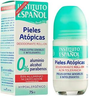 desodorante sin aluminio Instituto Español