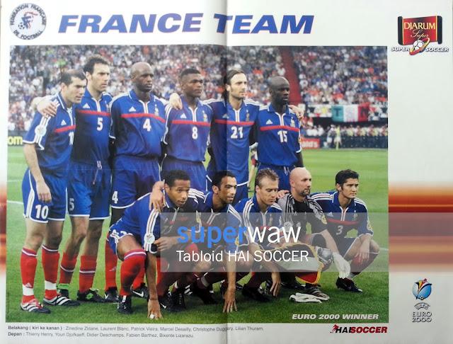 France Team EURO 2000 Winner
