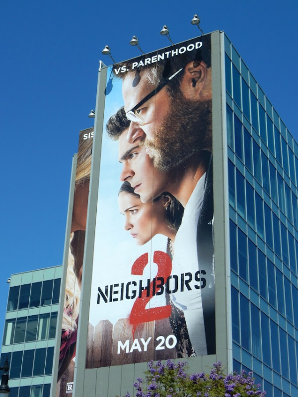 Giant Neighbors 2 movie billboard