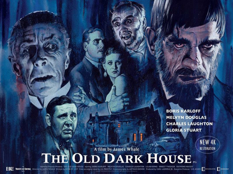 THE OLD DARK HOUSE uk poster