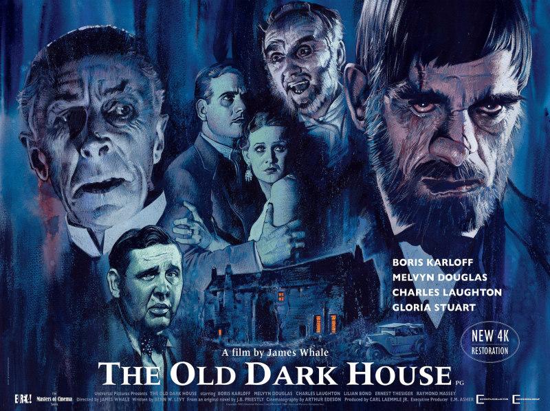 THE OLD DARK HOUSE [4K Restoration] (1932) poster