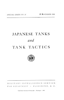Japanese Tanks and Tank Tactics
