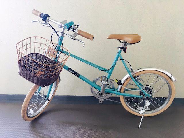 サイマのミニベロ自転車ミモザ