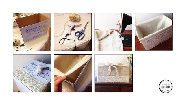 Tutorial caja para ordenaro de cartón