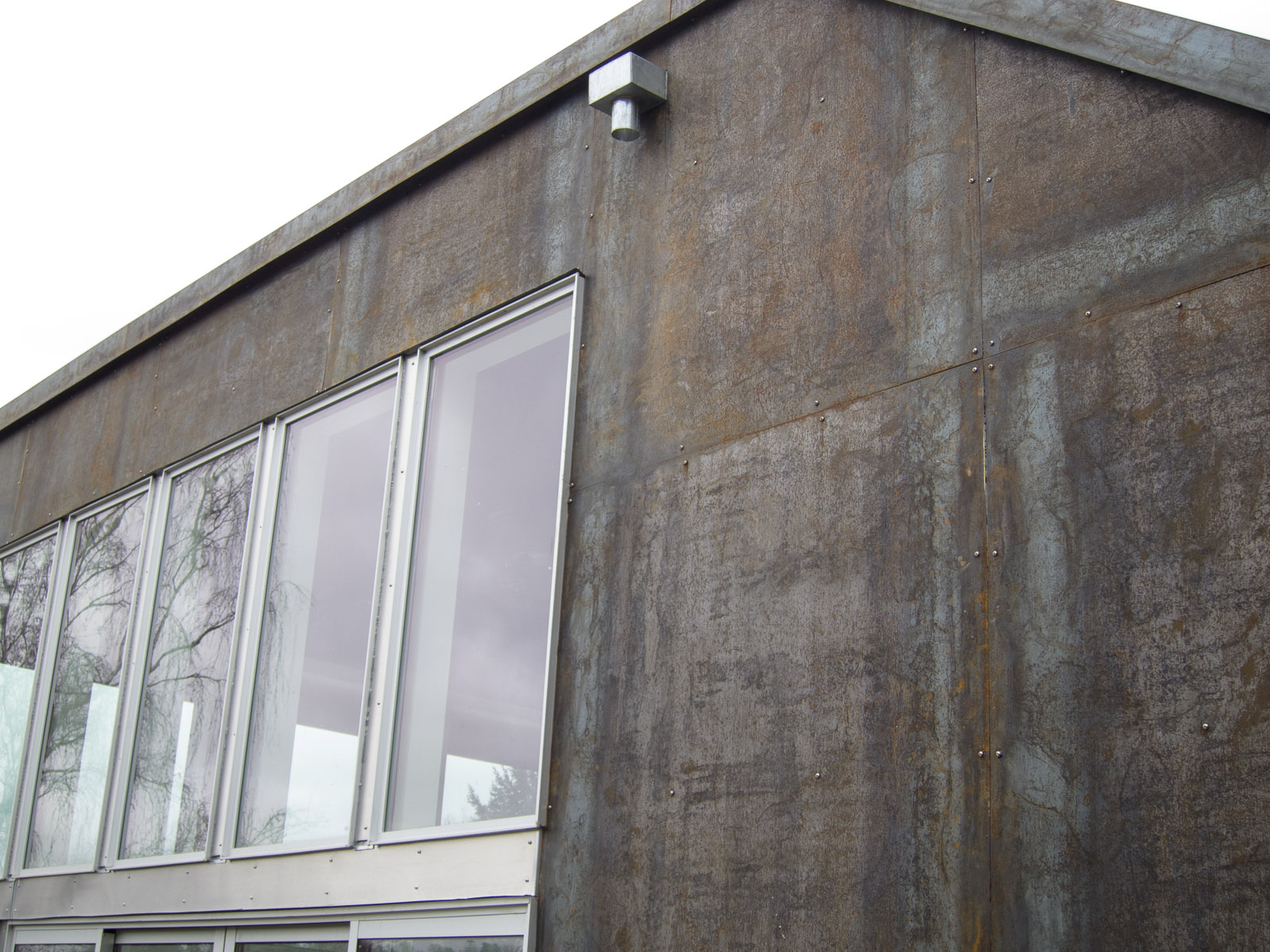 The Viretta Park Residence Siding Part 3 Corten Steel