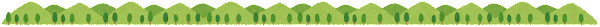 緑の山のライン素材