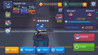 Hack game Cat Gunner