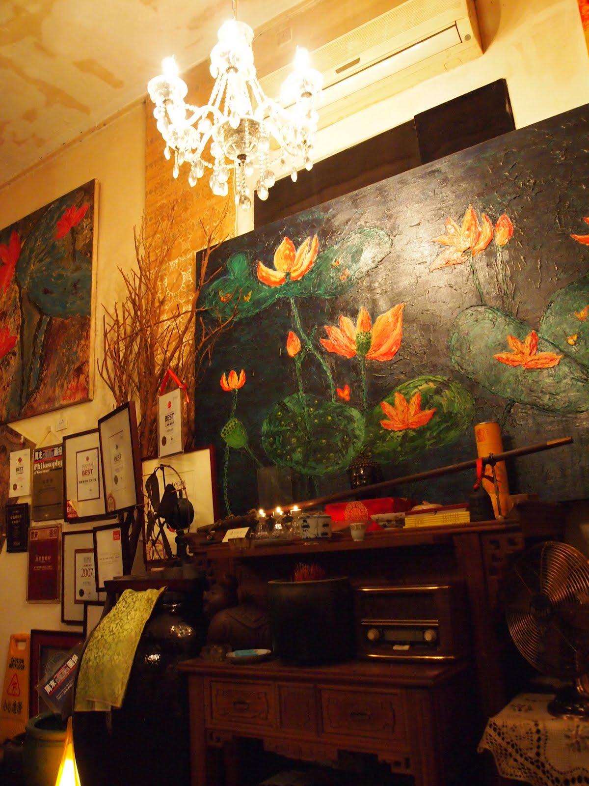 Candy Stripes And Rainbow Dreams: Art Salon Restaurant