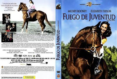Carátula dvd: Fuego de juventud (1944) National Velvet